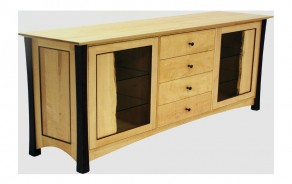 Willoughvale Buffet with Live Edge Doors