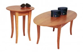Flare Leg Occasional Tables