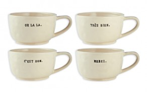 """Cafe Au Lait"" Mugs"
