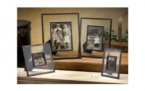 Metal & Glass Photo Frame