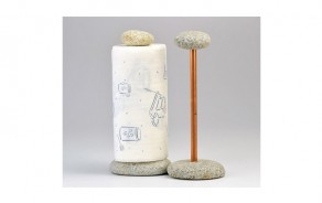 Stone Paper Towel Holder