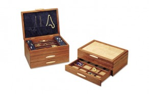 Cascade Wooden Jewelry Box