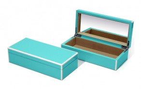 Small Lacquered Jewelry Boxes