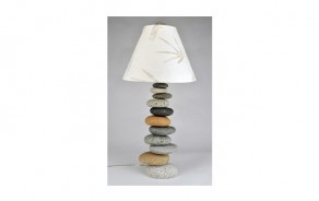 Offset Rock Table Lamp