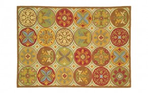 Company C Stepping Stones Spice Rug