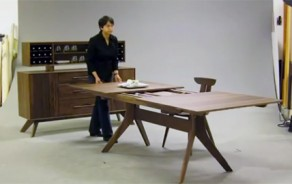 Audrey Dining Table: Expansion Demo
