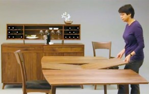 Catalina Dining Table: Expansion Demo