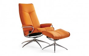 Stressless City Chair & Ottoman