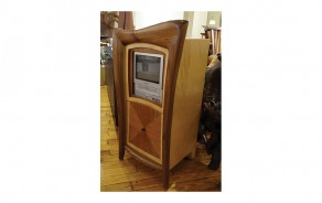 Marquetry TV Cabinet