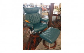 Skyline Medium Chair & Ottoman