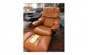 Reno Small Chair & Ottoman