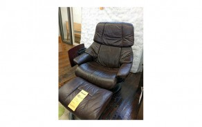 Reno Large Chair & Ottoman