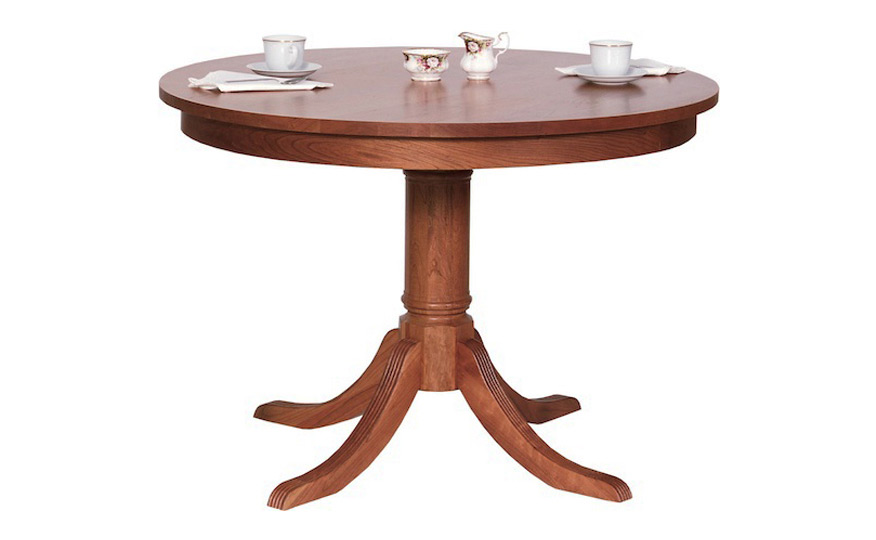 Duncan Phyfe Round Table Fairhaven Furniture