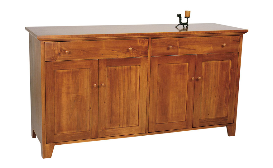 vermont country buffet amp hutch fairhaven furniture