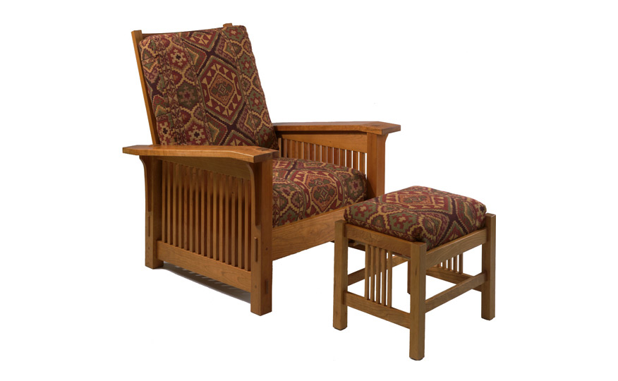Morris Chair Ottoman Fairhaven Furniture