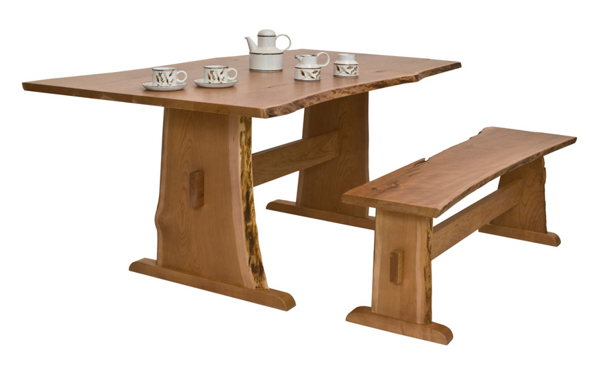 Sherwood Live Edge Dining Table Fairhaven Furniture