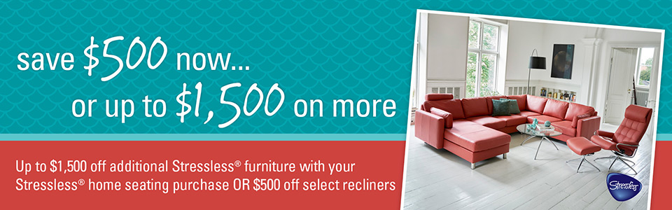 Save $500 now, or up to $1,500 on more