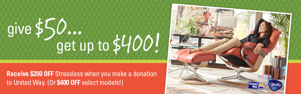 Give $50... get up to $400!