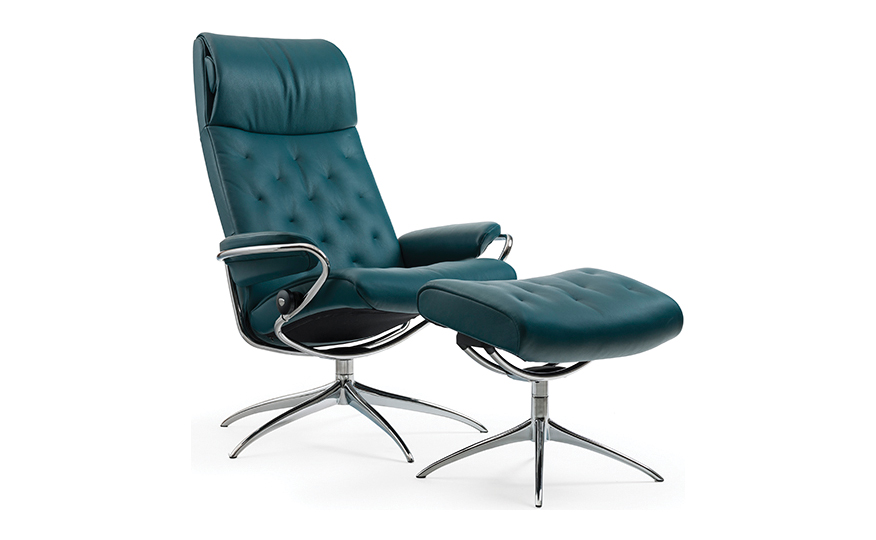 ... Living Room » Chairs + Recliners » Stressless Metro Chair & Ottoman