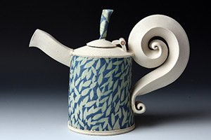 Ceramic Teapot by Hayne Bayless
