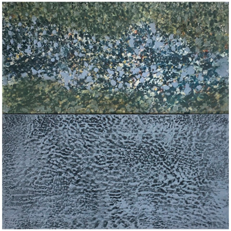 Amy Arledge, Lake Diptych